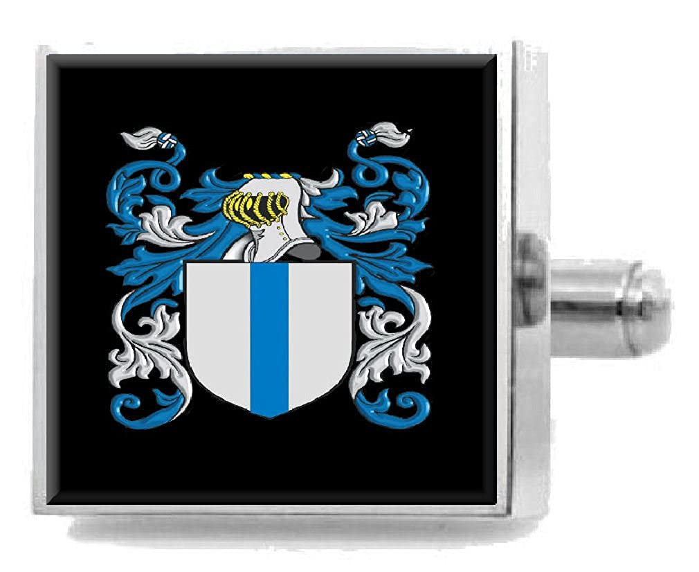 Select Gifts Maccurdy Ireland Family Crest Surname Coat Of Arms Cufflinks Personalised Case