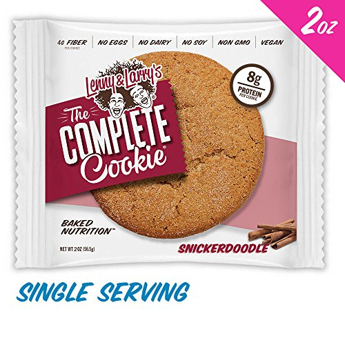 Lenny & Larry's The Complete Cookie Snickerdoodle, 12Count