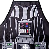 FASHION ALICE Star Wars Darth Vader Be,Stormtroopers,Hero Character Modern Family Apron Couple Kitchen Aprons Funny Personality Sexy Originality Cooking Aprons Gift(Black)
