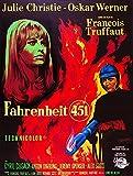 Fahrenheit 451 French Poster Art From Left: Julie Christie Oskar Werner 1966 Movie Poster Masterprint (24 x 36)