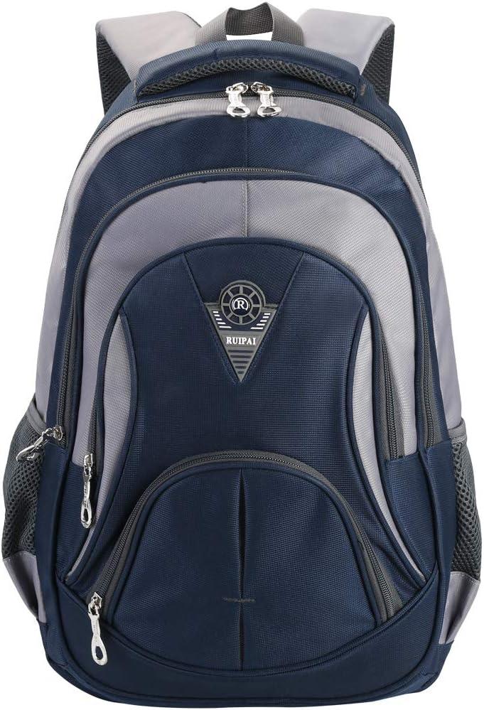VBG VBIGER Unisex School Backpack Cute Book Bag for Girls Boys Large and Lightweight Daypack (Blue)