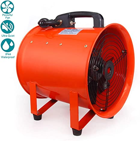 12 Inches / 300mm Ventilador Industrial Portátil Diámetro Axial ...