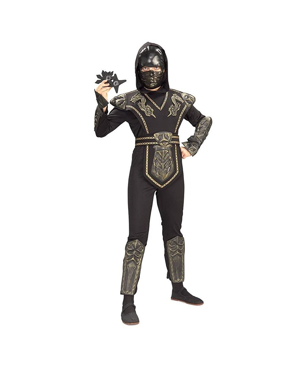 Amazon.com: Dragon Warrior Ninja Child Costume - Large (12 ...