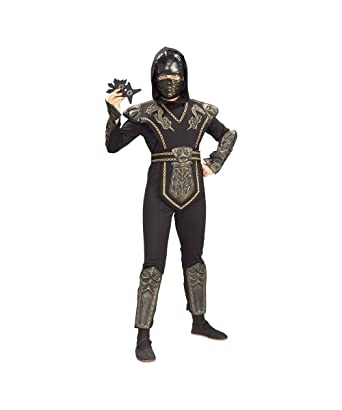 Amazon.com: wondercostumes niños Dragon Warrior Ninja ...