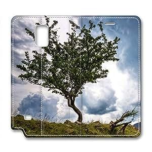 Fantasy Design Leather Case for Samsung Note 4 Tree and SkyKimberly Kurzendoerfer