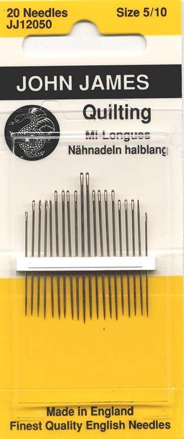 Quilting//Betweens Hand Needles-Size 3//9 20//Pkg