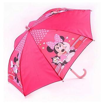 GUIZMAX Paraguas Minnie Mouse Niño Disney Rosa: Amazon.es ...