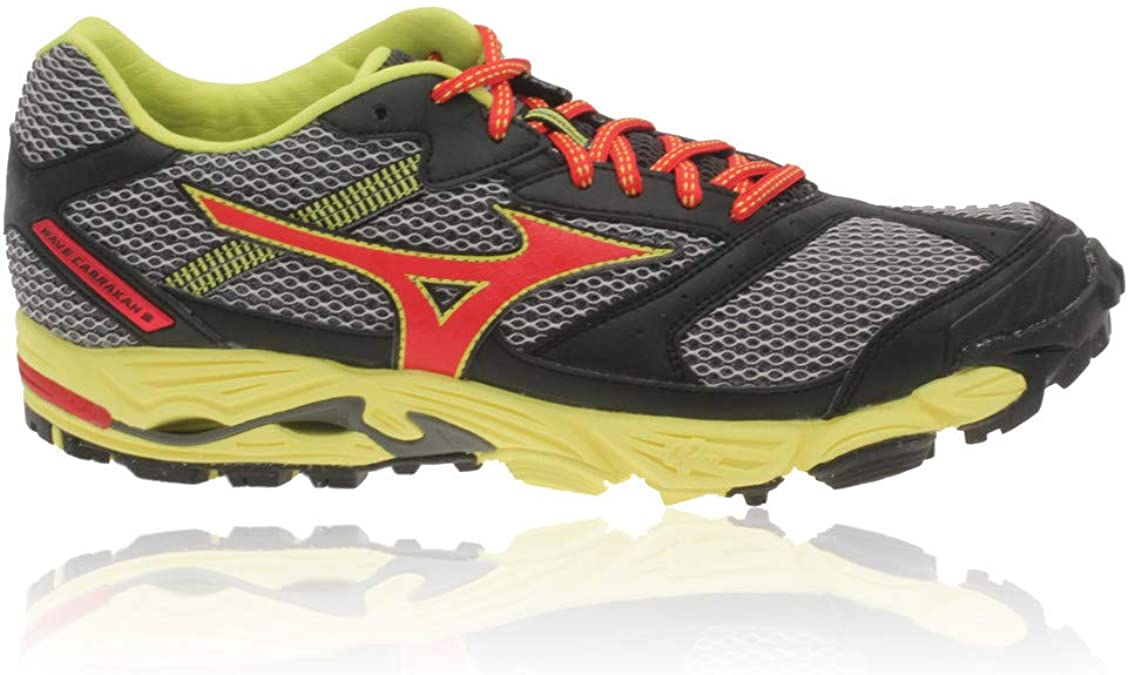 Mizuno - Zapatillas de Running de Material Sintético para Hombre Negro: Amazon.es: Zapatos y complementos