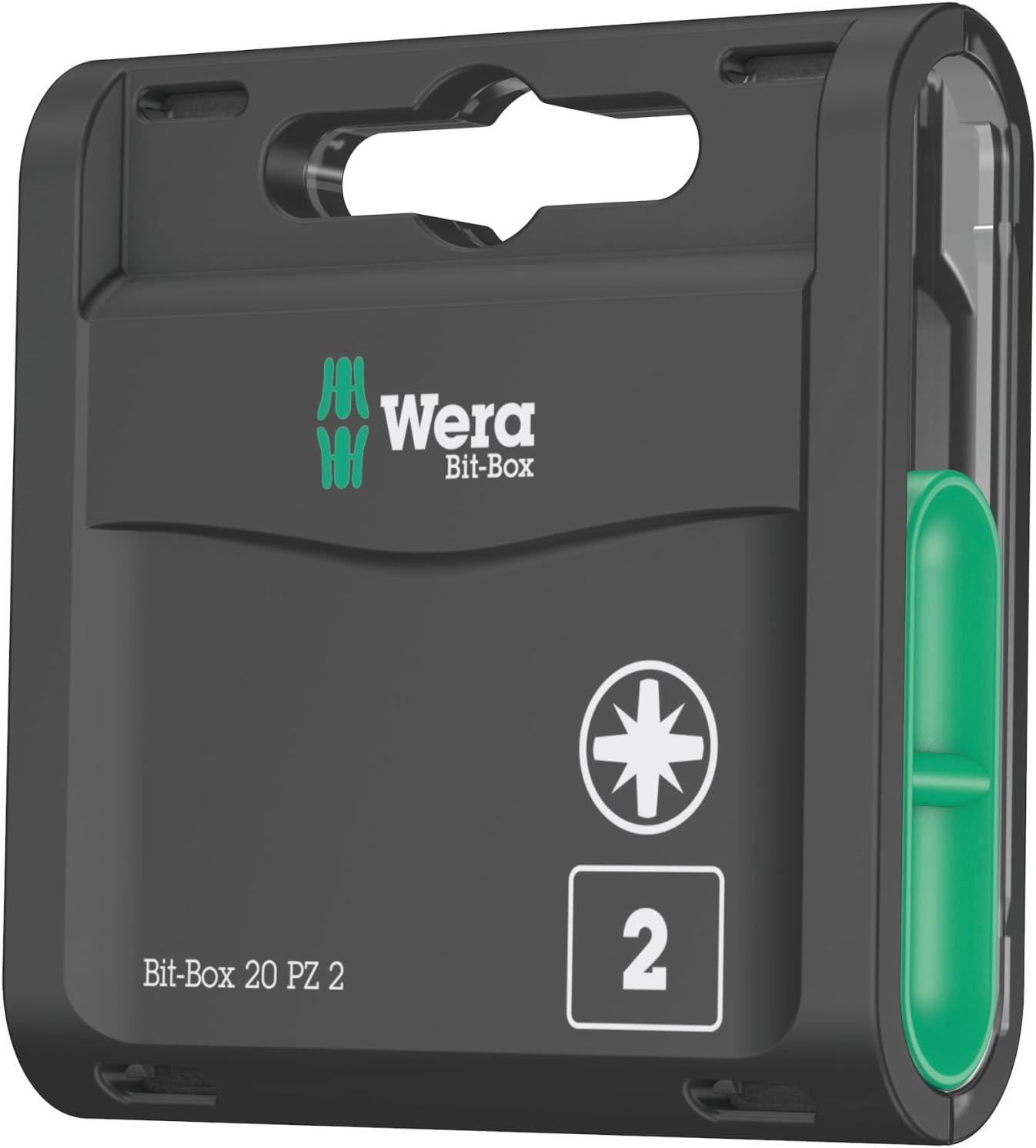 Wera Bit-Box PZ2 x 25 mm 20pc 05057760001
