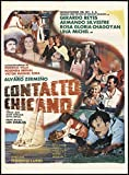 "An Original Movie Poster Collectible released in 1981 for the film ""Contacto Chicano"". This item's dimensions are 27.5"" x 37.25"". Please see condition notes for more information on this unique collectible item."