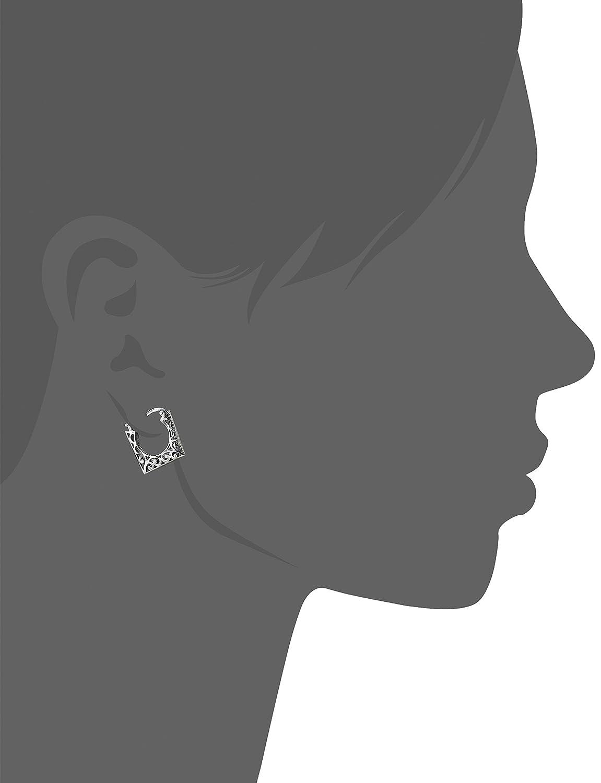 Pokupki/customer/account/login - Amazon Com Sterling Silver Bali Inspired Filigree Square Hoop Earrings Jewelry