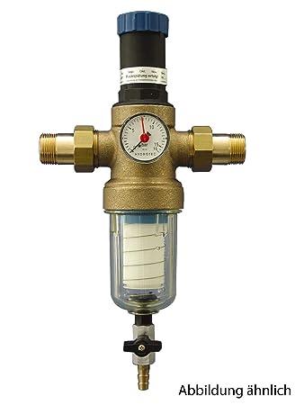 Sanitop Wingenroth 14328 8 Hauswasserfilter Rückspülbar Mit