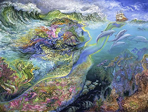 Josephine Wall Posters - Great Art Now Spirit Of The Ocean by Josephine Wall Art Print, 11 x 8 inches
