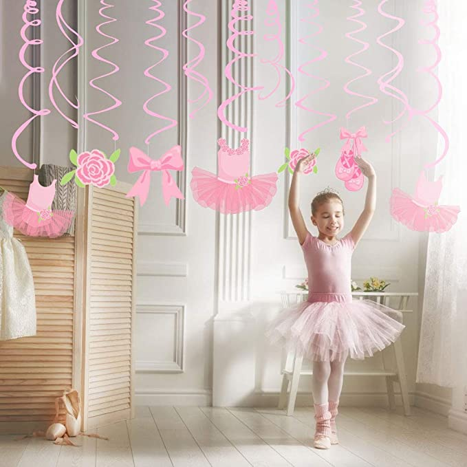 Sayala 30Piezas Fiesta de Cumpleaños Ballet Bailarina ...