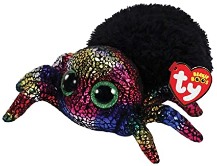 "2018 Halloween TY Beanie Boos 6"" LEGGZ The Spider Plush w/ Ty Heart Tags"