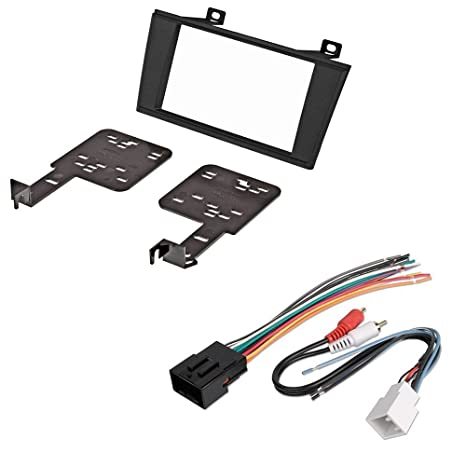 Groovy Amazon Com Car Cd Stereo Receiver Dash Install Mounting Kit Wire Wiring Cloud Oideiuggs Outletorg