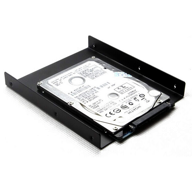 SAISN HDD/SSD Mounting Bracket, 2.5 to 3.5 Adapter, Hard Drive Holder (Single Drive, 2 Pack) by SAISN (Image #6)