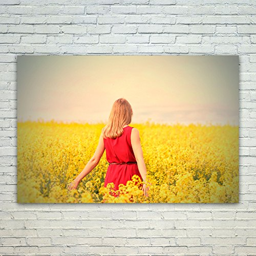 Westlake Art Poster Print Wall Art - Yellow Photograph - Mod