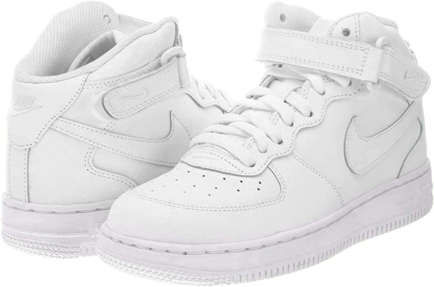 air force 1 mid blanc