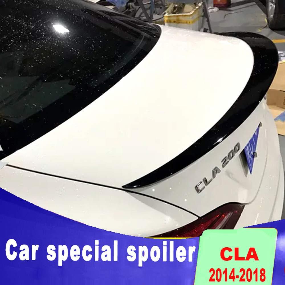 AniFM Spoiler a/érodynamique de Haute qualit/é pour aileron arri/ère CLA W117 CLA200 CLA220 CAL260 de 2013 /à 2019,White