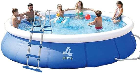 HEROTIGH Piscinas Hinchables De Gran Tamaño Inflable Bebé Infantil Inflable Piscina Piscina Piscina Infantil Familia Bebé 360X90Cm Inflatable Pool: Amazon.es: Hogar