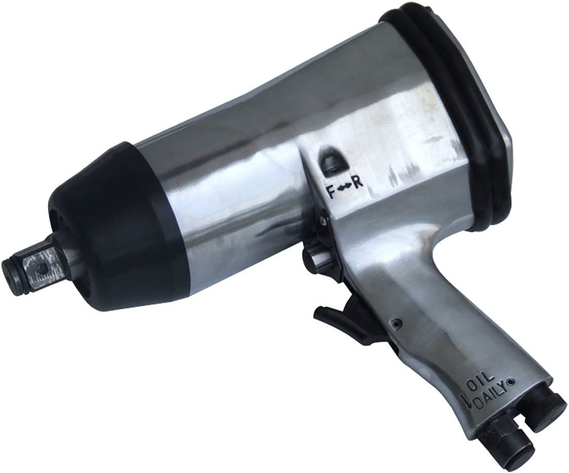 "3//4/"" Drive Air Impact Gun Ratchet Wrench Max Torque 500 Ft Lb"