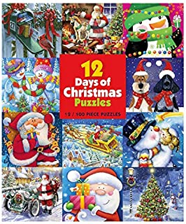 product image for 12 Days of Christmas Puzzles - (12) 100Piece