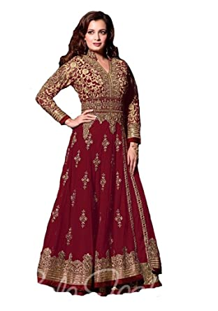 Amazon.com: anarkali gown, anarkali gowns for women,Readymade ...