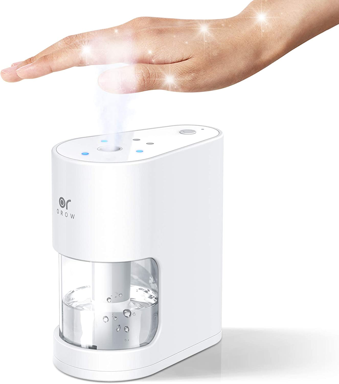 OROROW Automatic Alcohol Dispenser 100ML Touchless Alcohol Dispenser Sprayer with Sensor for Home, Office, School, Hospital,Bar,Hotel