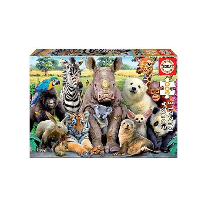 61 yUraD pL Puzzles de 300 piezas , horas de diversión y entretenimiento; dimensiones aproximadas del puzzle montado: 40 x 28 cm Puzzles inspirados en Foto de Clase Compuestos por grandes piezas, perfectamente acabadas para que sea sencilla y segura su manipulación por los niños