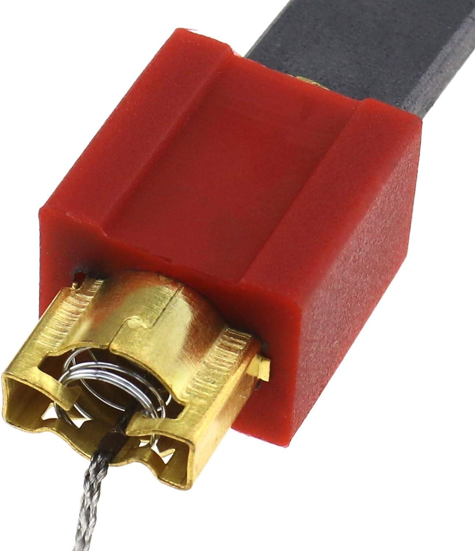 YINETTECH 1 Paire Porte-balais en Carbone pour Machine /à Laver Miele W700 W800 W900 S/éries Compatible pour 4297413 4297414 4297410 4297411 4297412