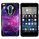 MINITURTLE Case Compatible w/LG G Stylo LS770 Phone Case, Durable Hybrid Shock Impact Stand Case w/Art Pattern Designs for LG G Stylo LS770, H631, MS631, LG G4 Stylus Heavenly Stars
