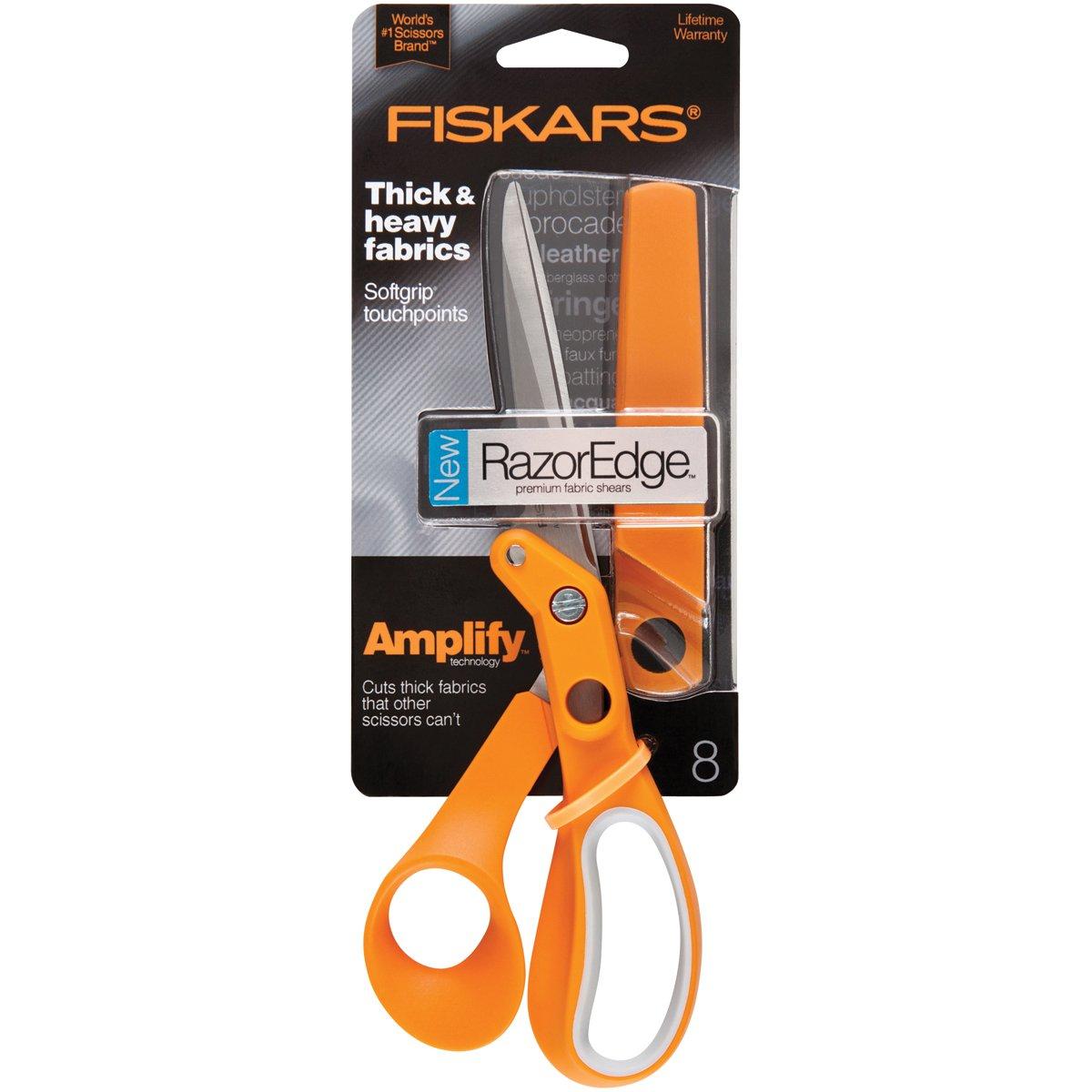 Fiskars Amplify RazorEdge Fabric Scissors 8''- by Fiskars