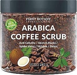100% Natural Arabica Coffee Scrub with O...