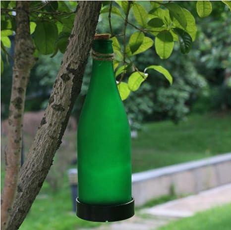 HHORD Solar zooms LED de Botellas de Vidrio lámpara ...