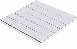 Wathai Off-White 36pcs 15x15x2mm Thermal Silicone Pad for GPU CPU PS3 PS2 Xbox Heatsink Cooling