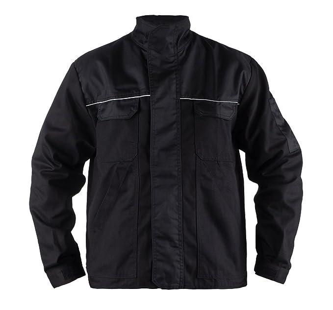 TMG Heavy Duty Lightweight Work Jackets Coats Black S