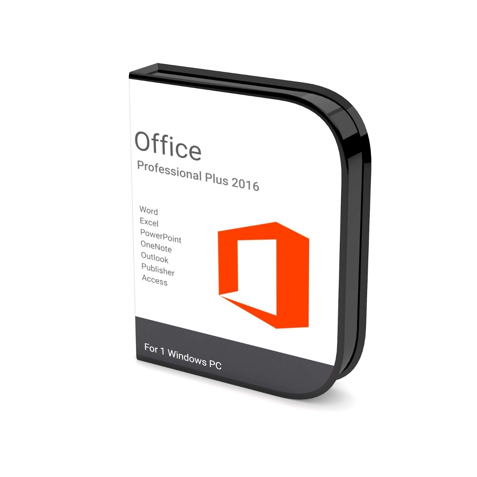 Microsoft Office 2016 Pro Plus 32-bit 64-bit Lifetime Product Key Download  Link