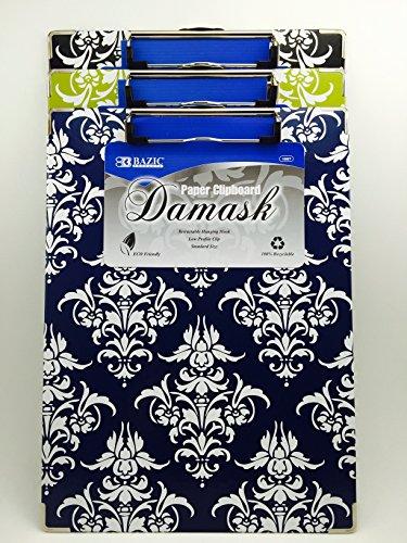 Standard Damask Paperboard Clipboard Profile