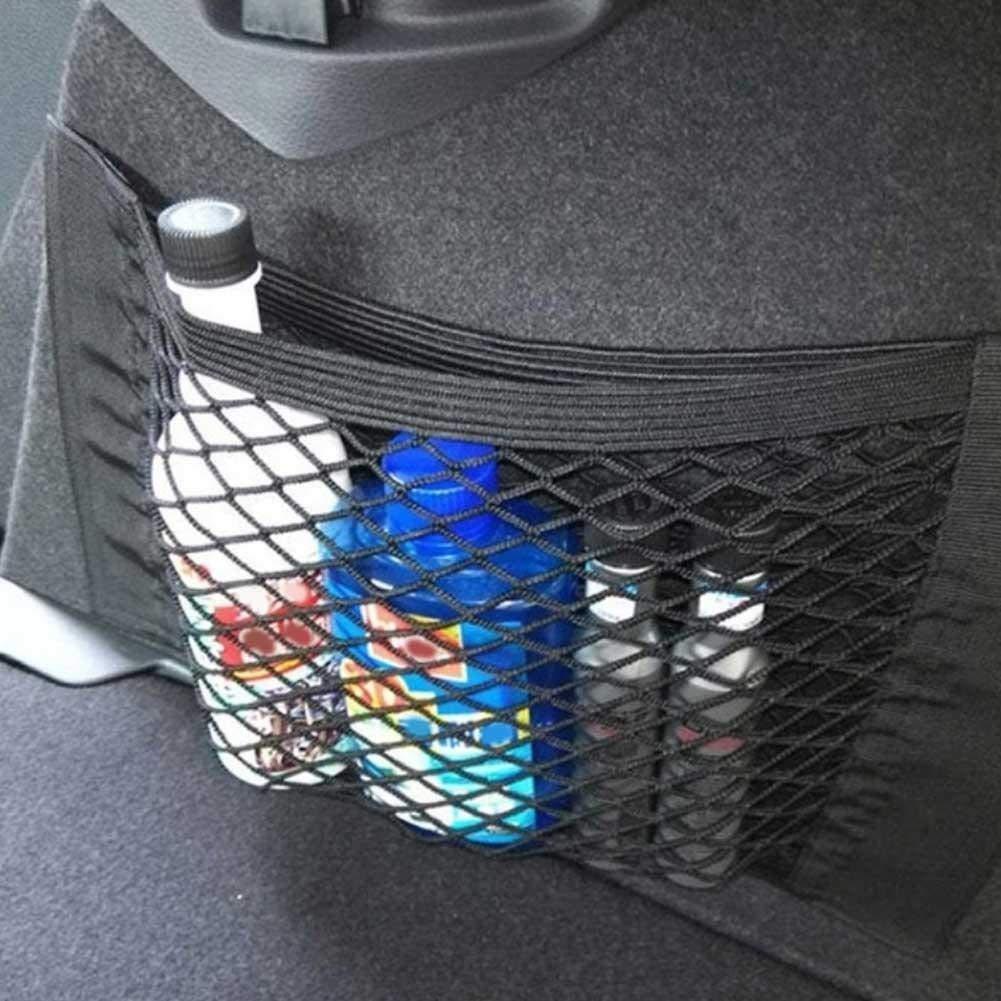 Michelle ShawLO Auto-Netztasche Aufbewahrungsnetz f/ür Kofferraum Magic Sticker Aufbewahrungstasche Netz Magazin Rack
