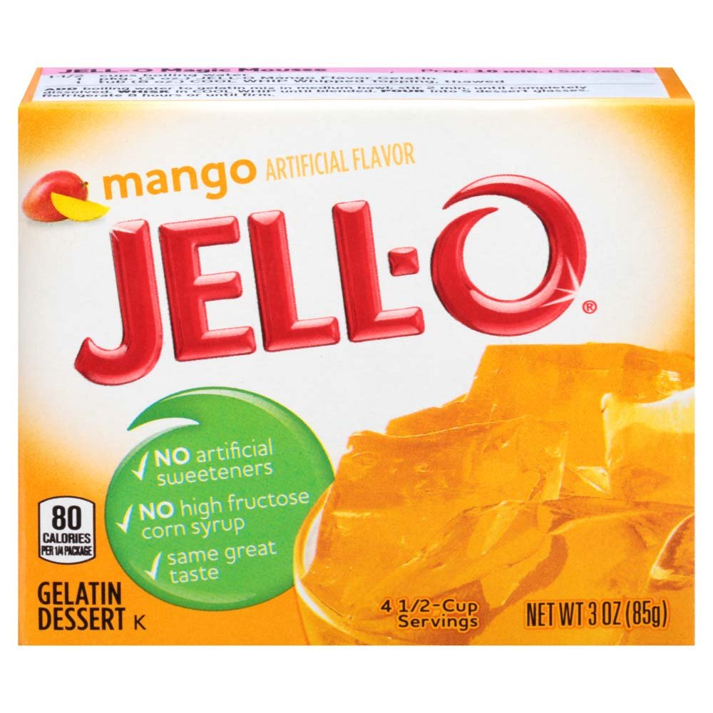 Jell-O Mango Gelatin Mix 3 Ounce Box by Jell-O (Image #3)