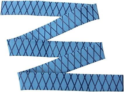 35mm Rutschfest Schrumpfschlauch mit Soft-Grip für Angelrute Blau