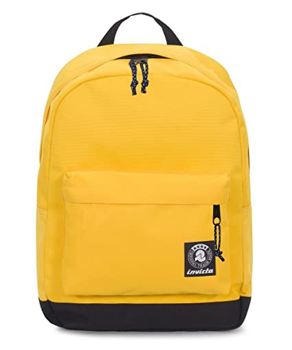 5489cd77d6 ZAINO INVICTA - CARLSON - Giallo - tasca porta pc padded - americano 27 LT:  Amazon.it: Valigeria