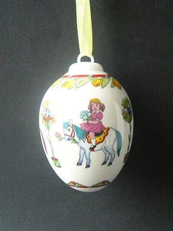 Hutschenreuther Porzellan Ei 1998 mit OVP ca 5,5 cm