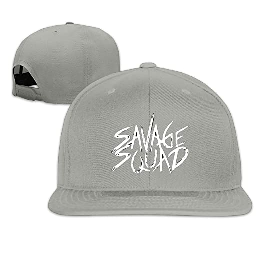 G-Gang Hats Savage Squad LIL Pump Unisex Flat Brim Baseball Hats 100% Cotton 78090d5ec0d5