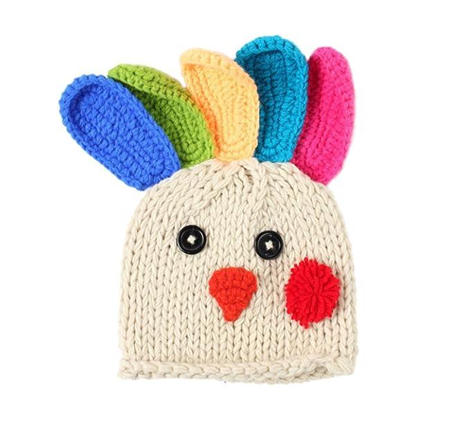DELEY Unisex Bebé de dibujos animados de Crochet Knit Beanie Turquía ...