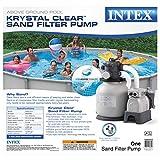 Intex Krystal Clear Sand Filter Pump for Above