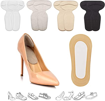 For Women Shoes Insoles Insert Heels Protector Cushion Pads Comfort Heel Liners