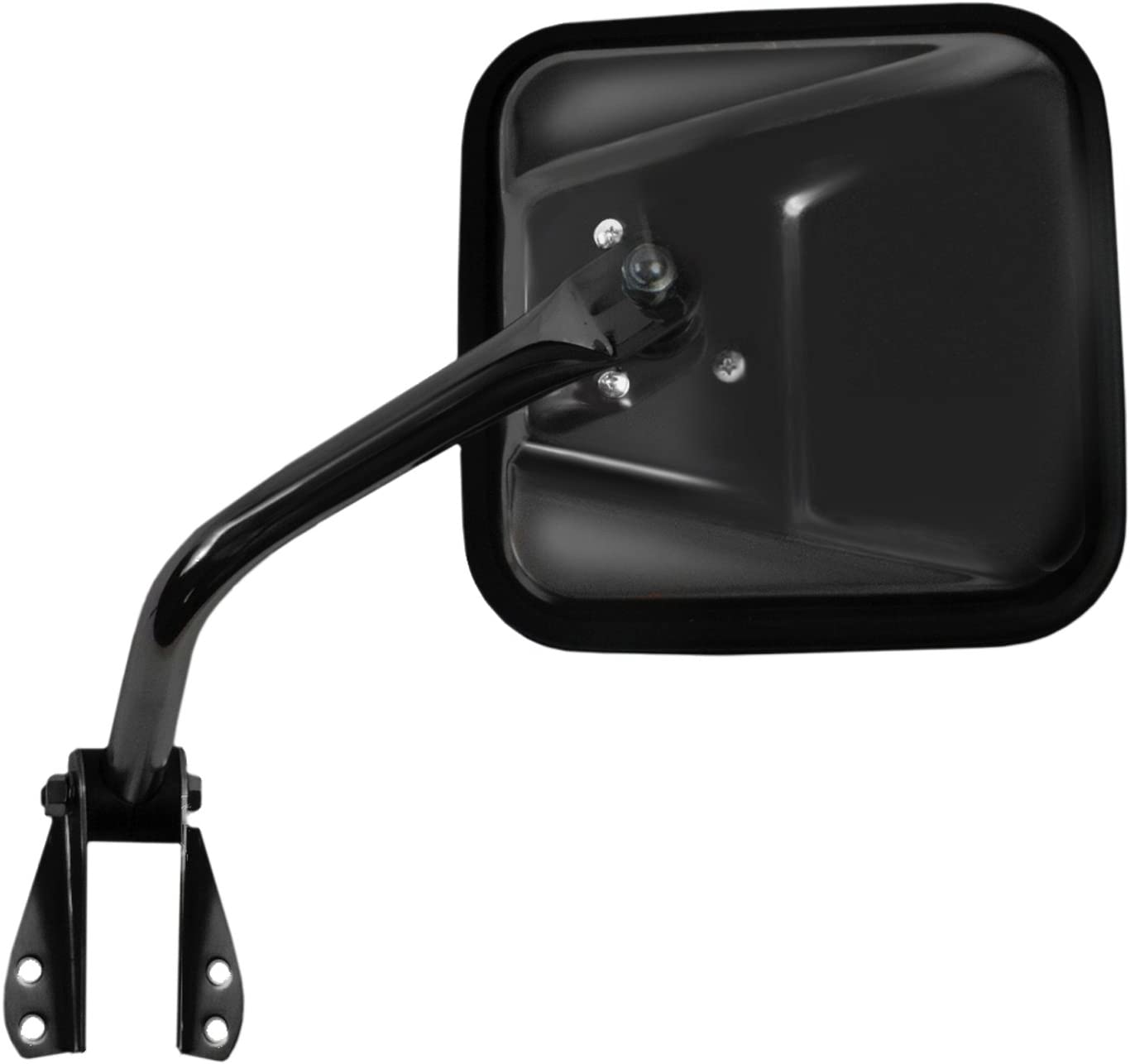 Fit System 60019C Jeep Passenger Side Replacement OE Style Manual Folding Mirror