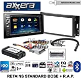 hummer h3 gps - Volunteer Audio Axxera AVN6558BT Double Din Radio Install Kit with Navigation Bluetooth CD/DVD Player Fits 2005-2013 Chevrolet Corvette, 2006-2009 Hummer H3 (OE amplified systems and Onstar)